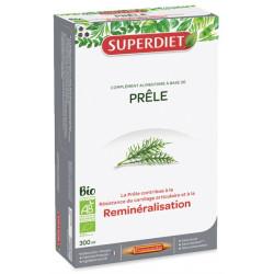 Prêle Bio 20 ampoules de 15 ml Super Diet