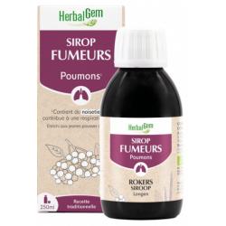 Sirop des Fumeurs Bio 250 ml Herbalgem - propolis bio santé sénior