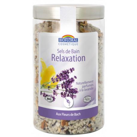 Sels de bain Remède de Secours Silice et Fleurs de Bach 320 gr Biofloral relaxation sérénité Bio santé sénior