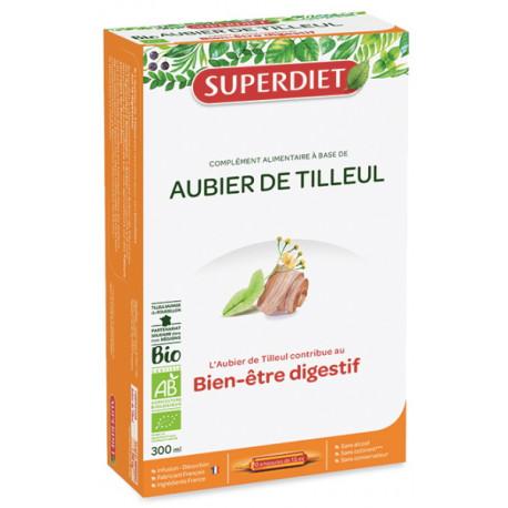 Aubier de Tilleul Bio 20 Ampoules Super Diet - dépuratif bio Bio santé sénior