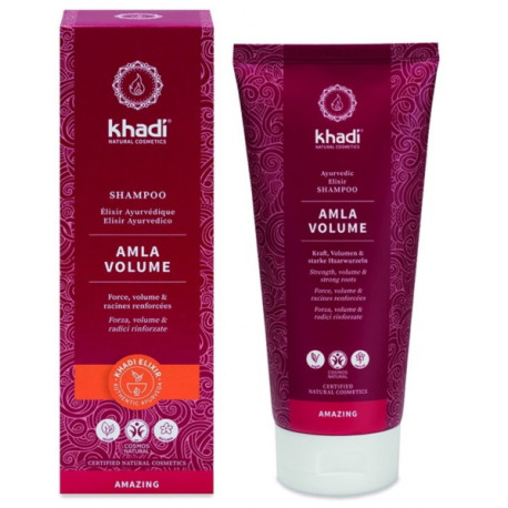 Shampooing ayurvédique Amla 200ml Khadi - shampooing certifié BDIH Bio santé sénior