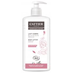 Lait Corps Beurre de Karité Géranium 500ml Cattier