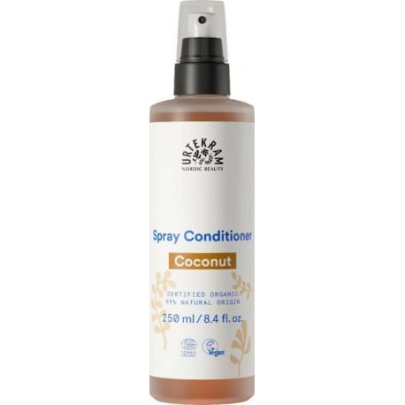 Demêlant Spray à la Noix de Coco 250ml Urtekram sans rinçage Bio santé sénior