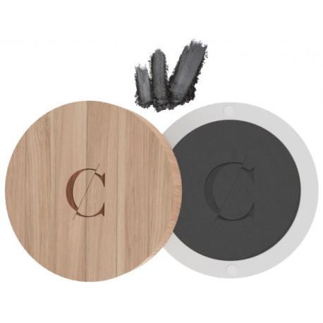 Ombre à paupières No 074 Gris anthracite mat Couleur Caramel maquillage pigmenté et mat Bio santé sénior