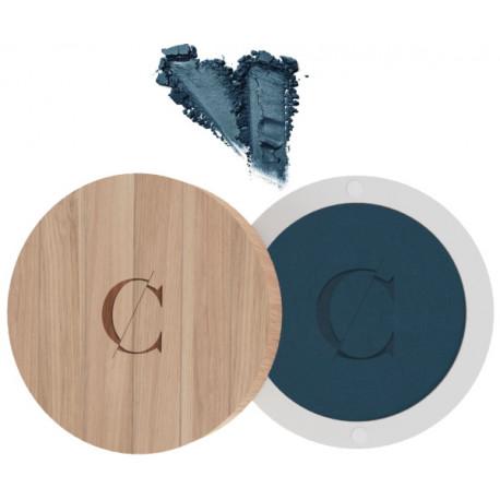 Ombre à paupières No 076 Bleu marine mat 1.7g Couleur Caramel teinte pigmentée autorisant les dégradés Bio santé sénior