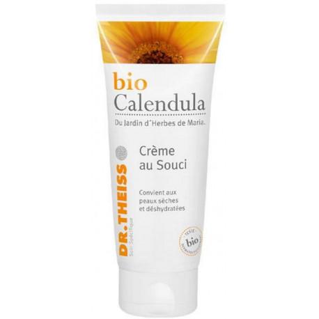Crème au souci Bio Calendula 100ml Dr Theiss calendula souci karité jojoba amande douce Bio santé sénior