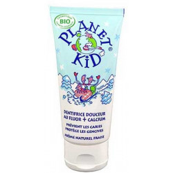 Dentifrice Douceur Fluor et Calcium 50 ml Planet Kid