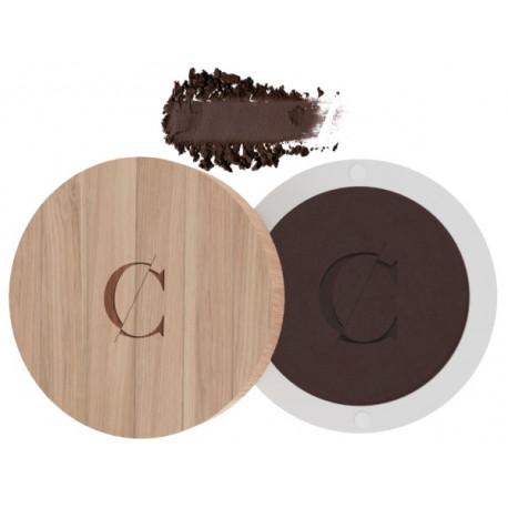 Ombre à paupières No 081 brun intense 1.7gr Couleur Caramel dégradés pour yeux marron maquillage bio santé sénior