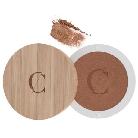 Ombre à paupières No 099 Pépite cuivrée nacré Couleur Caramel maquillage minéral bio santé sénior