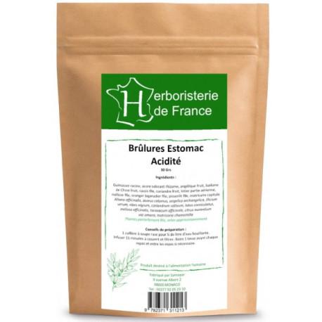 Tisane Brûlure d'estomac Acidité 30gr Herboristerie de France