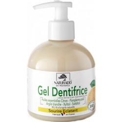 Gel Dentifrice Citron Vert flacon de 300ml - Naturado format économique certifié Bio santé sénior