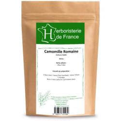 Tisane Camomille Romaine capitule floral trié entier 30gr Herboristerie de France infusion premium  Bio santé sénior