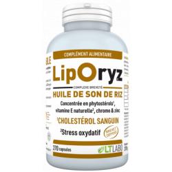 Liporyz Huile de Son de Riz 200 capsules LT Labo