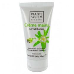 Crème pour les Mains Bio à l'Edelweiss