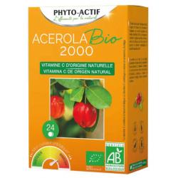 Acérola BIO 2000  2x12 comprimés - Phyto-actif