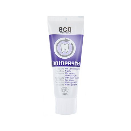 Dentifrice fraîcheur et soin à la Nigelle 75ml Eco Cosmetics bio santé sénior