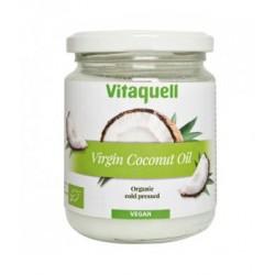 Huile de coco vierge usage culinaire - soin corporel 200gr Vitaquell