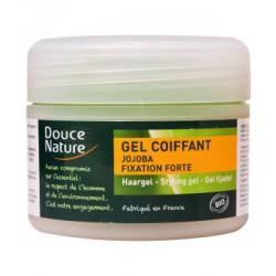 Gel coiffant fixation forte huile de Jojoba aloe vera 100 ml Douce Nature - gel coiffant bio