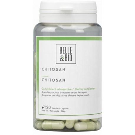 Chitosan naturel 120 gélules Belle et Bio complément alimentaire bio sante senior