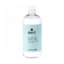 Lotion micellaire Bleuet Aloe Vera 500 ml Avril Beauté - eau micellaire bio