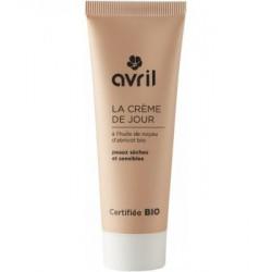 Crème de jour peau sèche et sensible Huile de Noyau Abricot 50 ml Avril Beauté - cosmétique bio