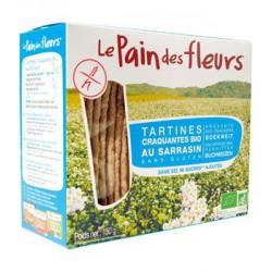 Tartines craquantes au Sarrasin sans sel ni saccharose ajoutés 150 gr Le Pain des Fleurs
