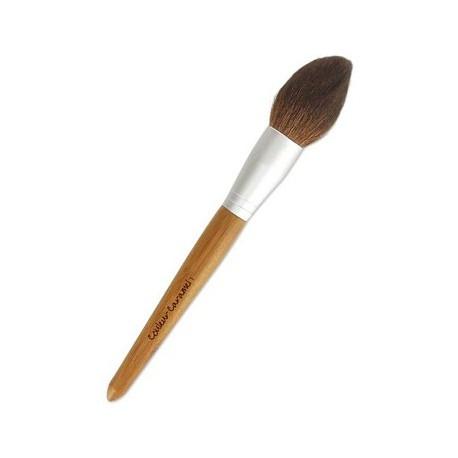 Pinceau no 1 Poudre Couleur Caramel blush maquillage bio sante senior