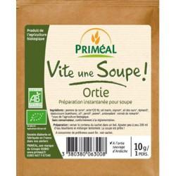 Vite une soupe Ortie sauvage d'Ardèche sachet individuel 10 gr Priméal