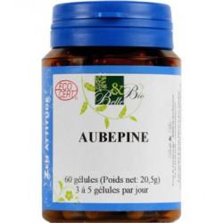 Aubépine 60 gélules 22.5 gr Belle et Bio - complément alimentaire bio sante senior