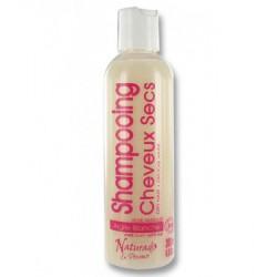 Shampooing cheveux secs Kaolin Rose musquée Lavande 200ml Naturado shampooing traitant bio santé sénior