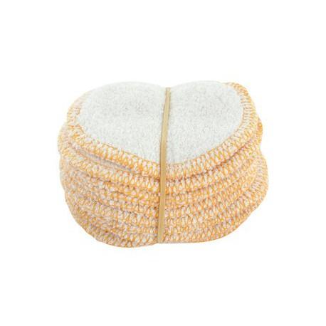 Lot 12 lingettes démaquillantes lavables en micro éponge de bambou Lulu Nature Bio sante senior