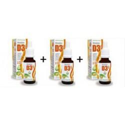 Vitamine D3 ++ Huile Triopack