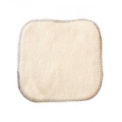 La débarbouillette 100% coton biologique 20 X 20 cm Lulu Nature