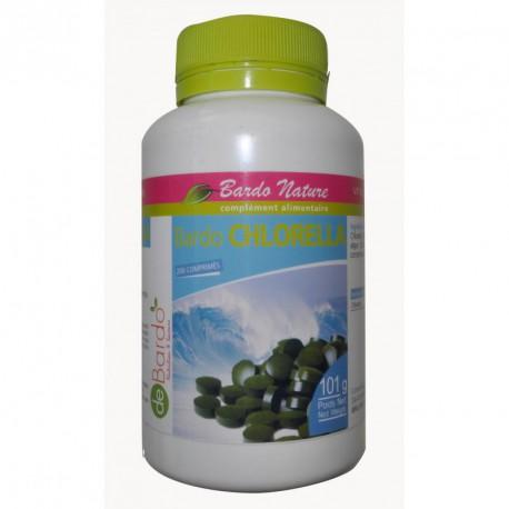 Chlorella bio 200 comprimés De Bardo