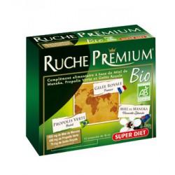 Ruche Premium Bio 10 ampoules de 15ml Super Diet