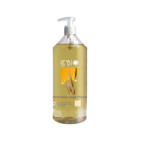Shampooing usage fréquent Miel Calendula Avoine 1L C'BIO
