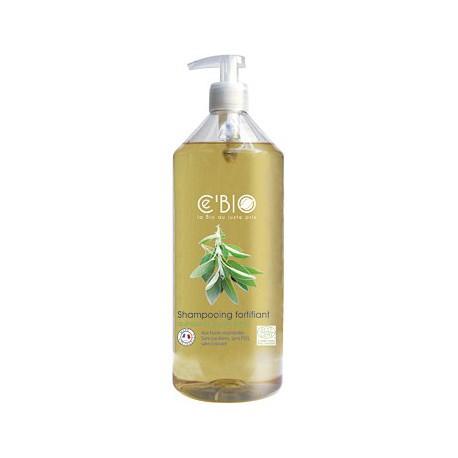shampooing fortifiant Quinquina Sauge Citron C'bio - Ecocert