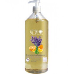 Shampooing douche Orange Lavande 1 Litre C'BIO