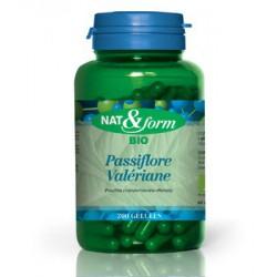 Complexe Passiflore Valériane 200 gélules - Nat et Form