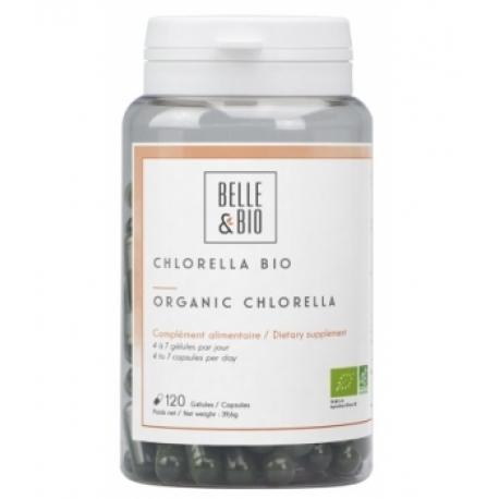 Chlorella Minuscule Algue d'eau douce 200 gélules Belle et bio - bio sante senior