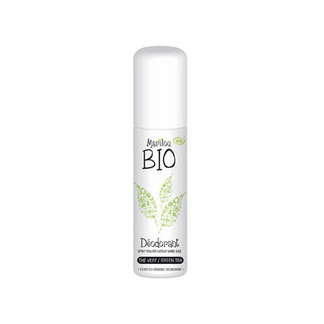 Déodorant spray Thé vert 75ml Marilou bio