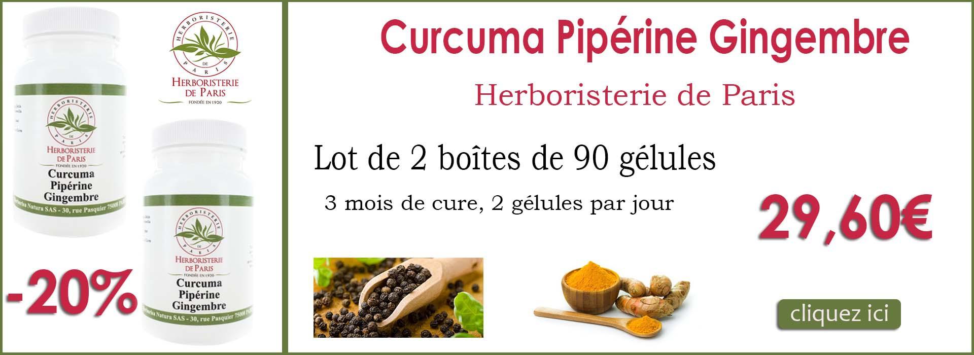 curcuma piperine gingembre herboristerie de paris