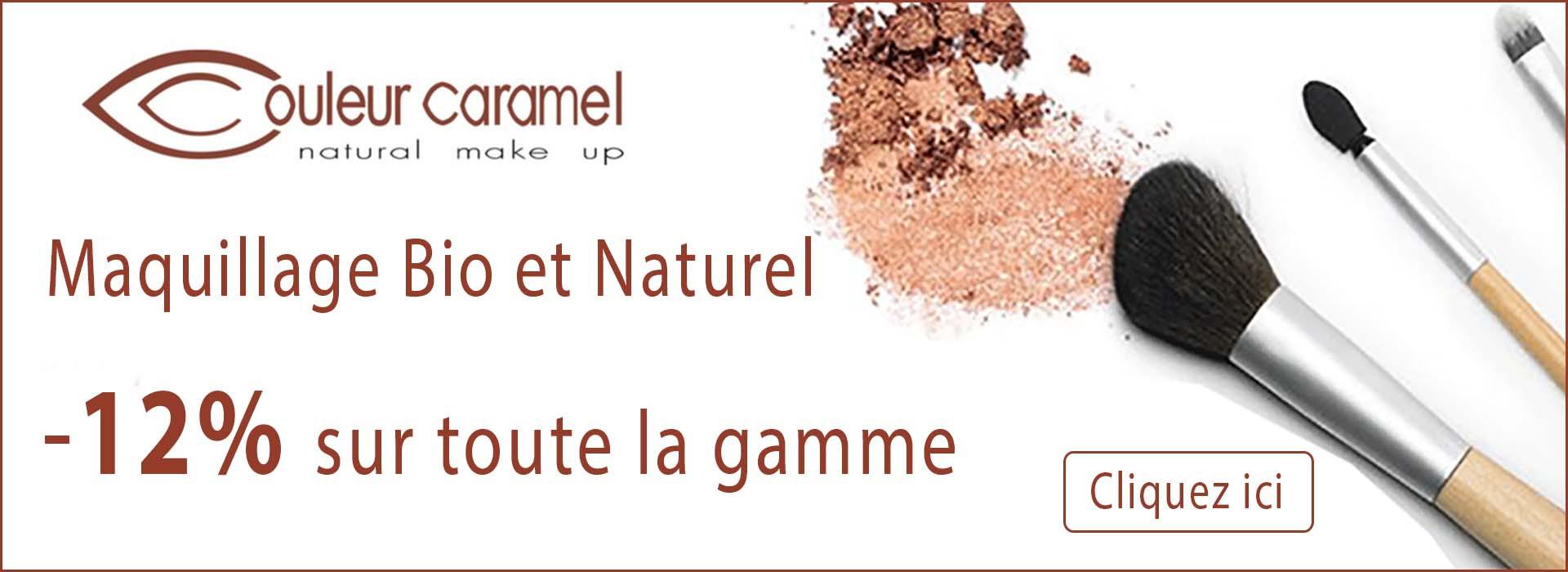 Maquillage Bio - Couleur Caramel -12%