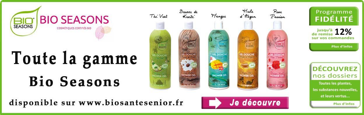 bio seasons gels douches et shampooings