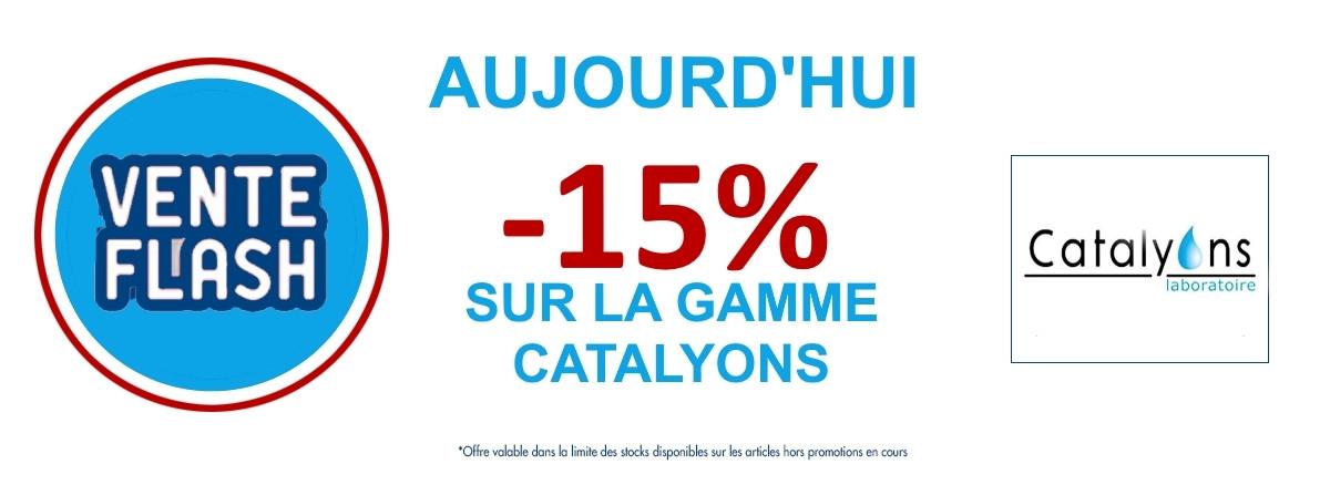 -15% sur la gamme catalyons