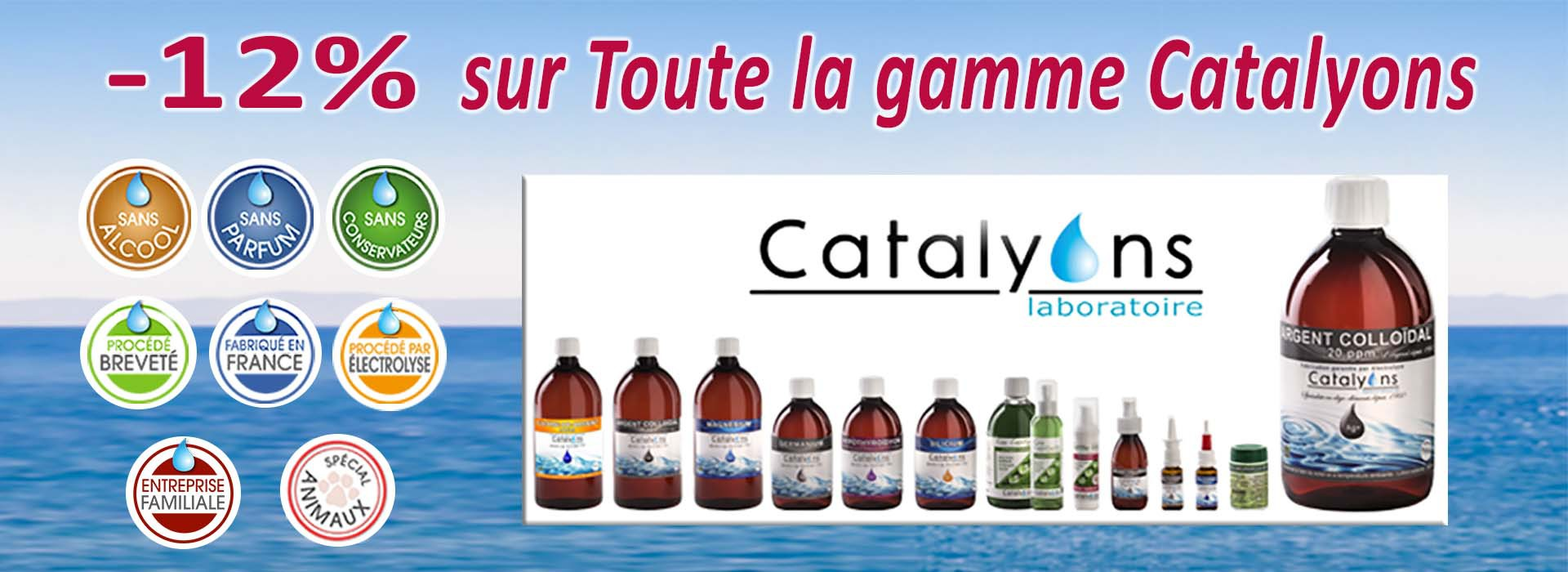 catalyons promotion -12%
