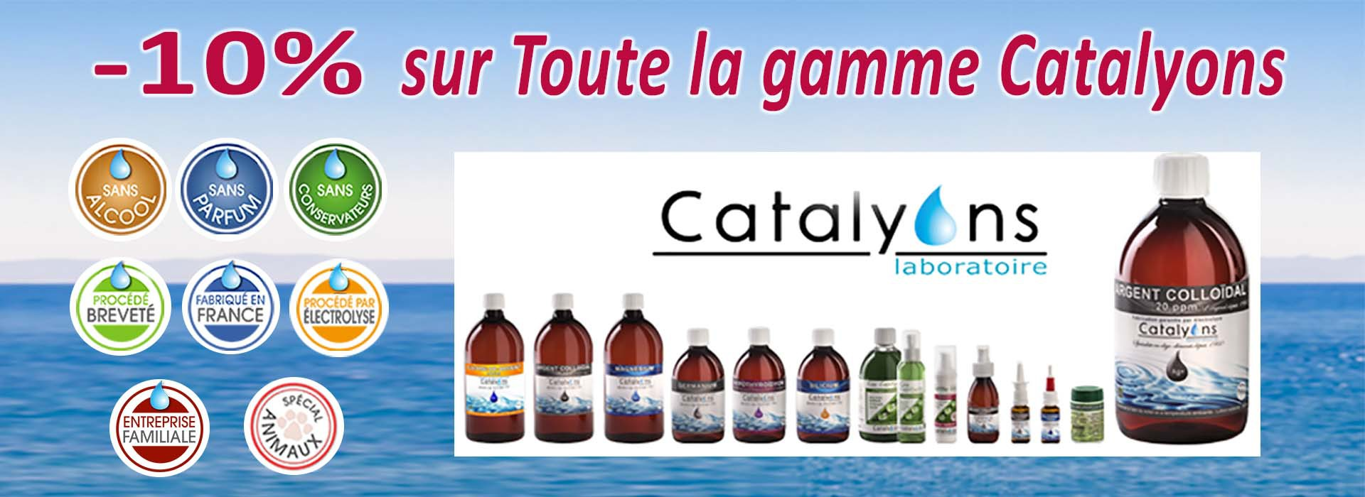 catalyons promotion -10%